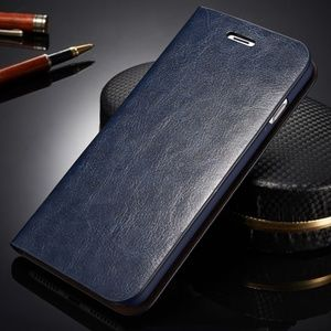 Accessories - iPhone Leather Wallet Flip Case Cover